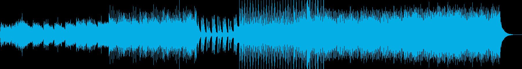 80年代風シンセポップの再生済みの波形