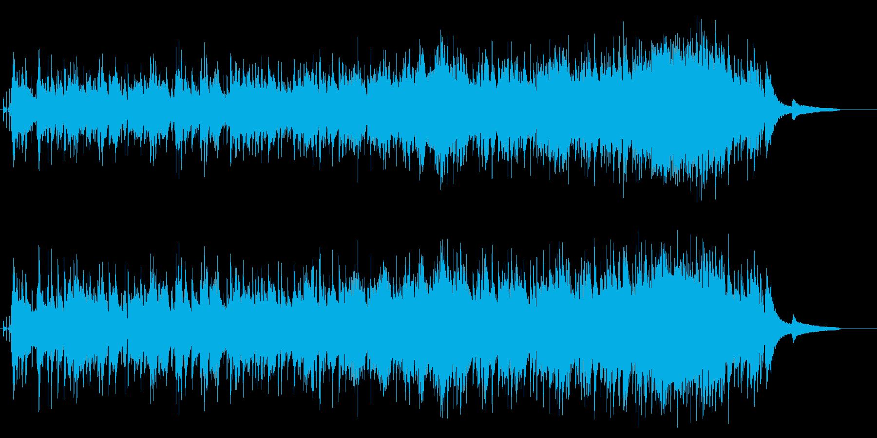 穏やかに胸をうつコテンポラリー・バラードの再生済みの波形