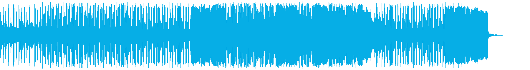 オープニング/かわいいアニメの再生済みの波形