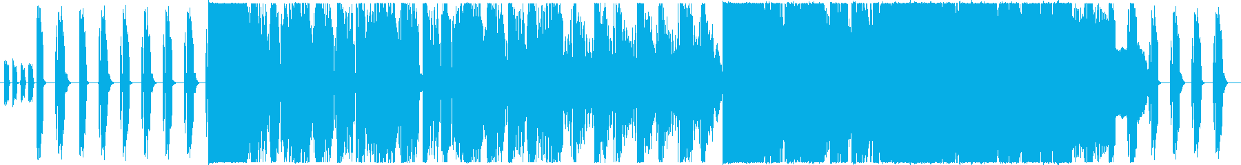BGM & BOSS battle with a tense atmosphere's reproduced waveform