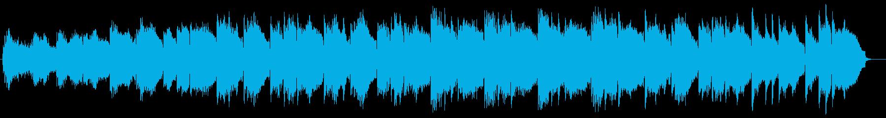 幻想的なリラクゼーションサウンドの再生済みの波形