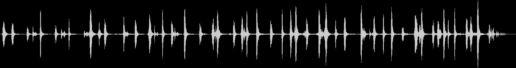 【生録音】春の野鳥のさえずり 2の未再生の波形