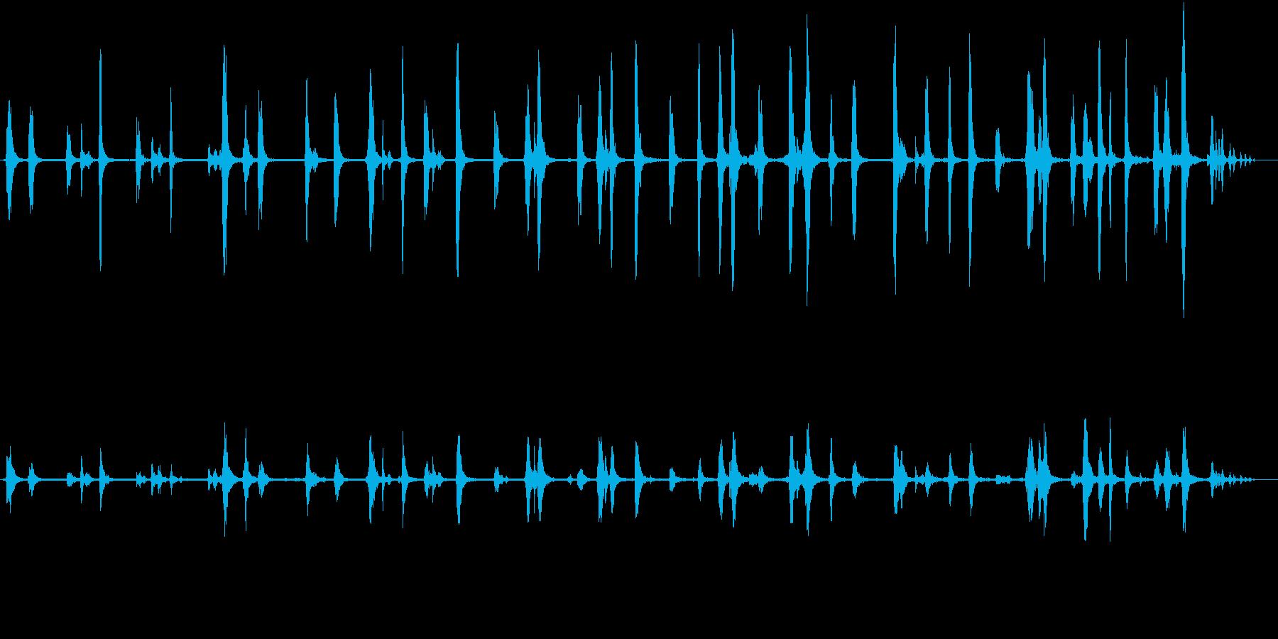 【生録音】春の野鳥のさえずり 2の再生済みの波形