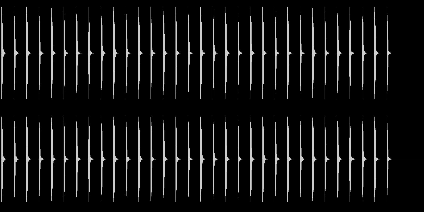 心電図の音-4-2(BPM50)の未再生の波形
