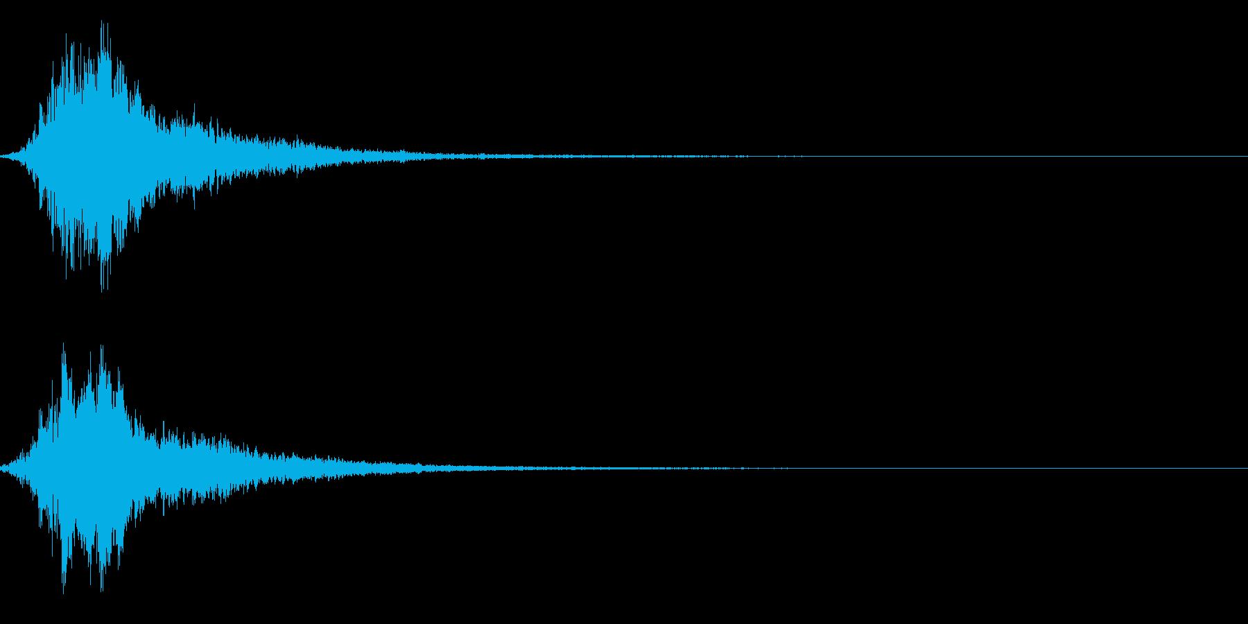 シャキーン!強烈なインパクトに最適!2bの再生済みの波形