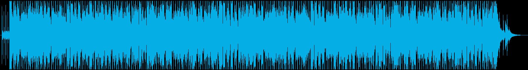 青空・笑顔・自然/ノリ爽快アコギポップスの再生済みの波形