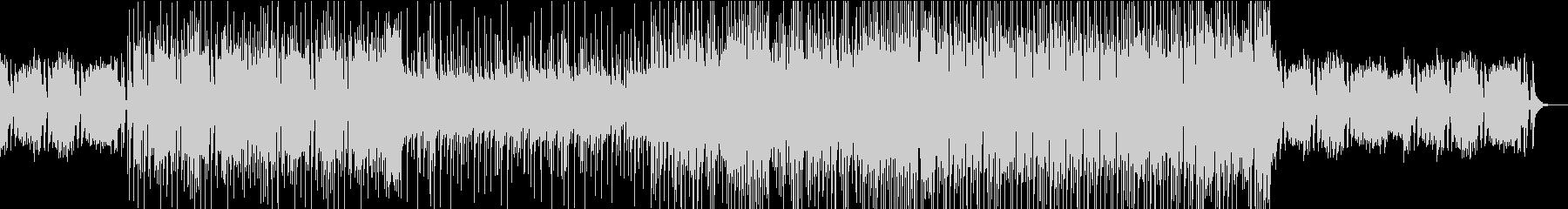 シンプルなピアノロックの未再生の波形