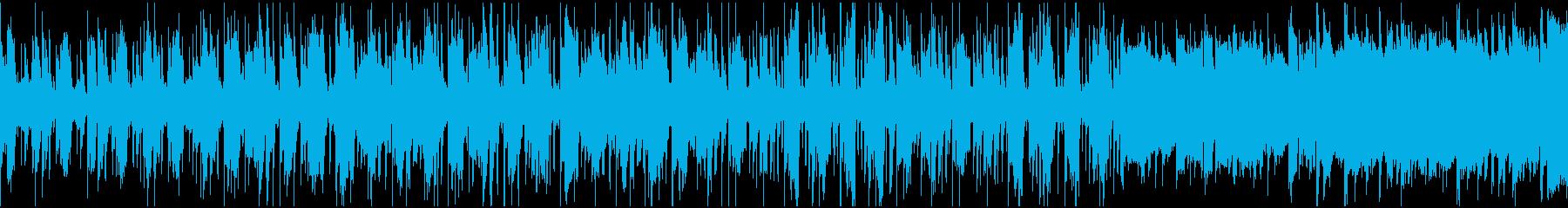 オシャレで大人なジャズの再生済みの波形