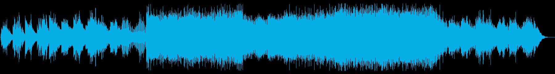 X-Filesのようなサスペンステクノの再生済みの波形
