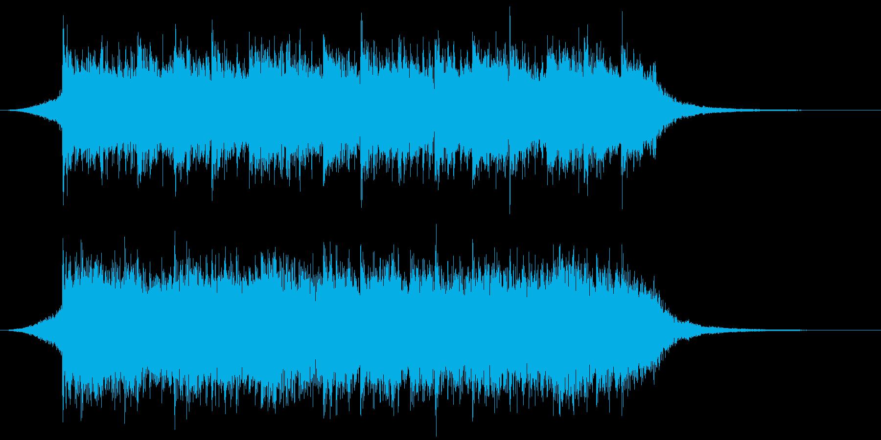 企業VP映像、154オーケストラ、爽快Sの再生済みの波形