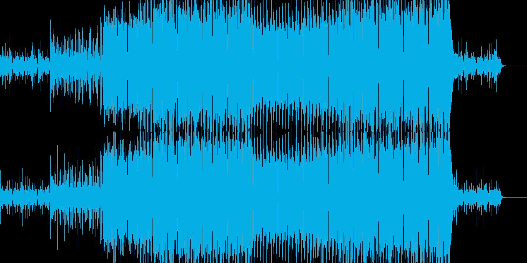 不思議な雰囲気を表現したい個所のBGM…の再生済みの波形