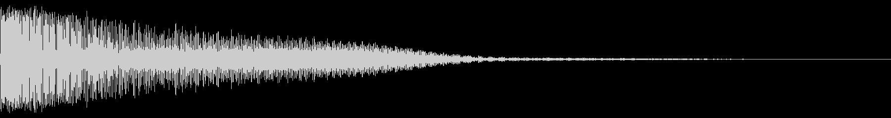 ビッグフラタリングインパクトブラスト1の未再生の波形