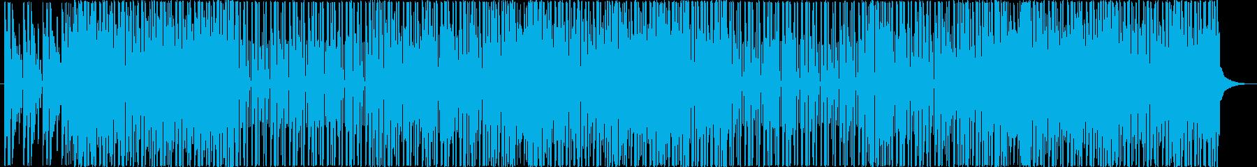 洋楽、パーティーHIPHOPトラックの再生済みの波形