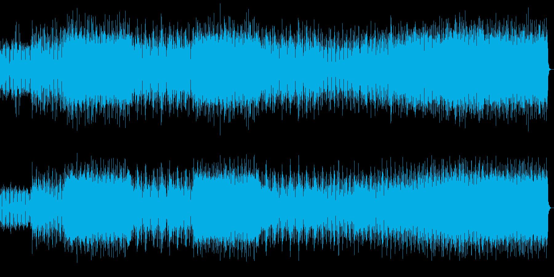 悪役の登場 悪いアンドロイドやロボットの再生済みの波形