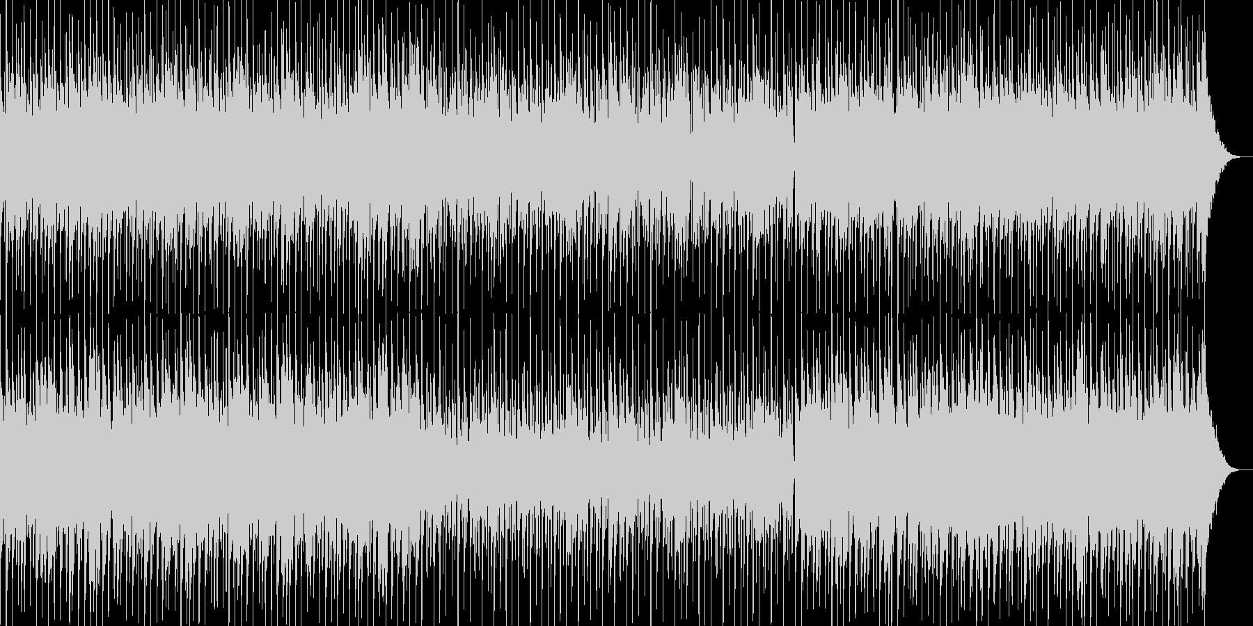 【波の音付き】明るい穏やかな南国の海の未再生の波形
