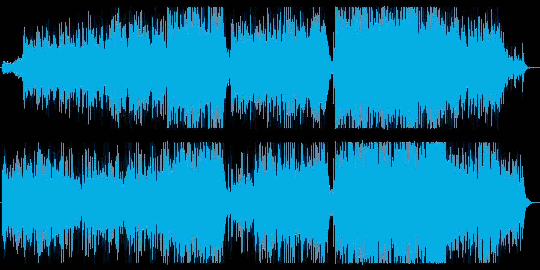 包むように温かく、清らかで美しい曲の再生済みの波形