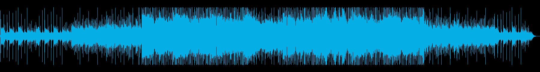 虫の声と切ないピアノのヒップホップ#02の再生済みの波形