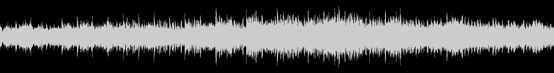 BGMに最適なシンセサイザーの曲の未再生の波形