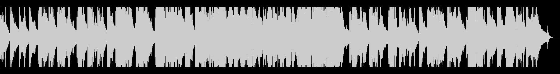 琴の音を使った切なめスローテンポの曲の未再生の波形