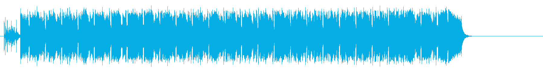 ワクワクする明るいポップ(イントロ~…)の再生済みの波形
