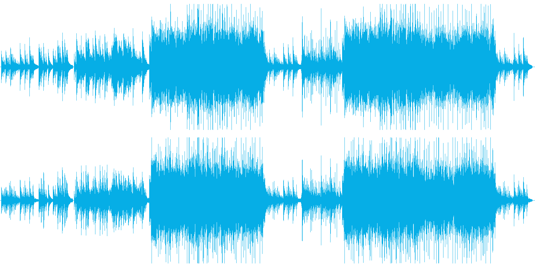 CM,映像向け ピアノ中心の和風BGMの再生済みの波形