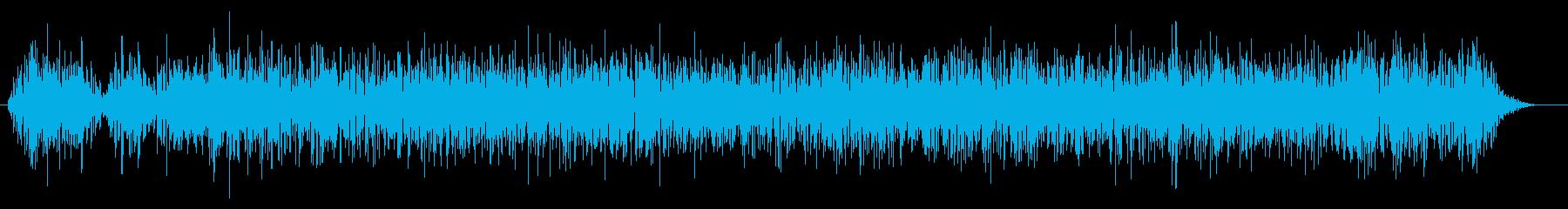 地鳴り・地震の再生済みの波形