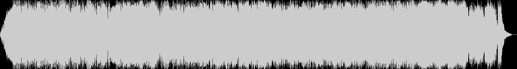 ダークファンタジーオーケストラ戦闘曲39の未再生の波形