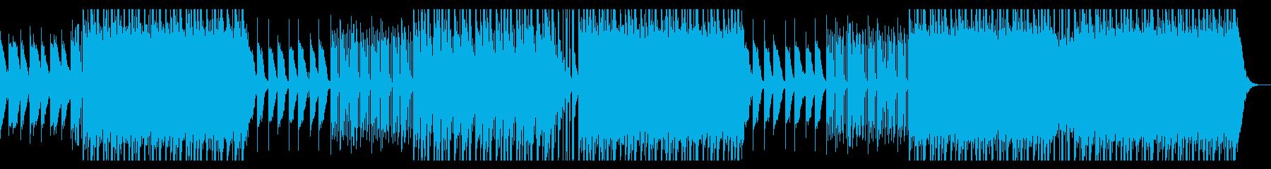 洋楽 ダークなトラップビートの再生済みの波形