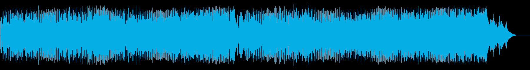 出発のエンディングBGM(フルサイズ)の再生済みの波形