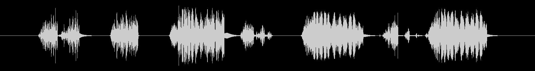 グリッティスタティックサンパーの未再生の波形