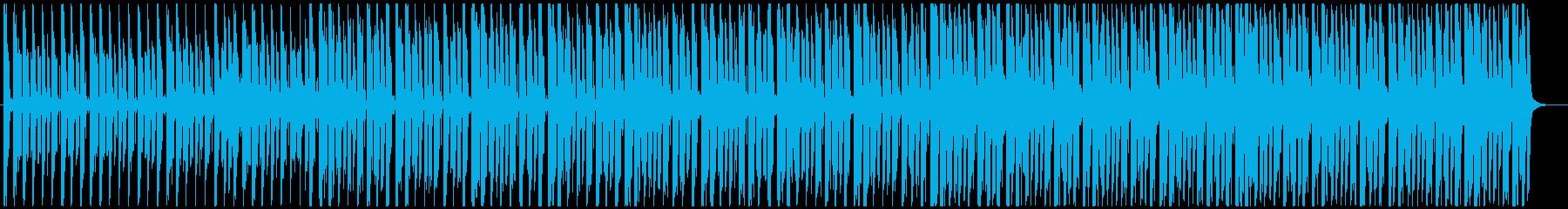 クールでアーバンなディープハウスの再生済みの波形