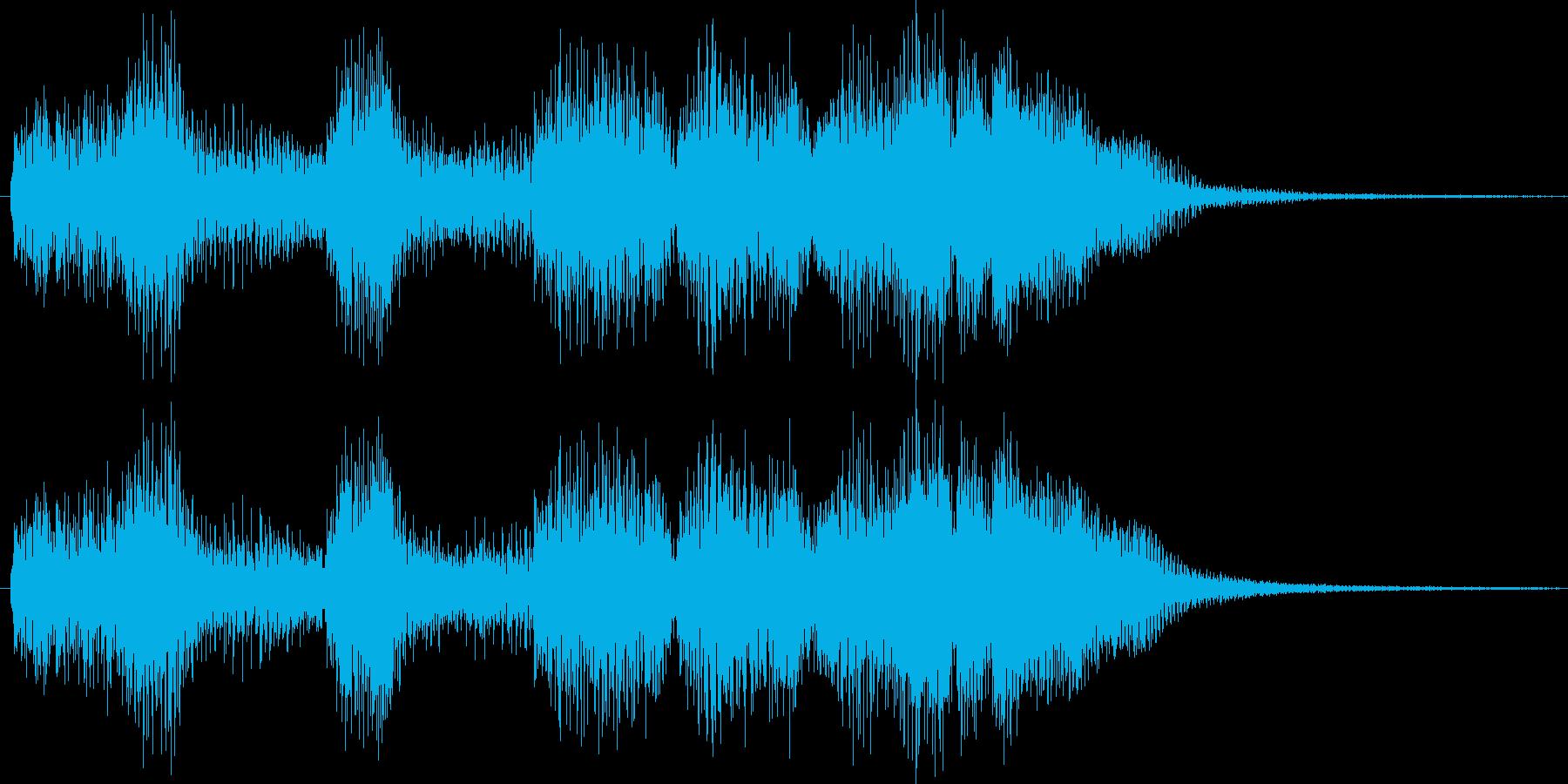 勇ましいファンファーレ【勝利、成功】 の再生済みの波形