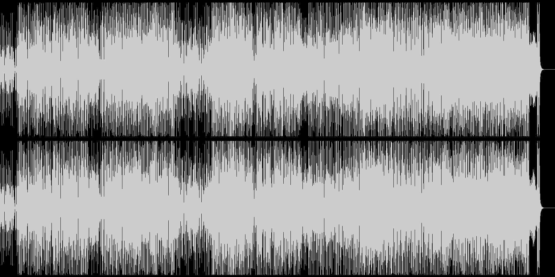 サックスの音色が怪しげなラテンジャズの未再生の波形