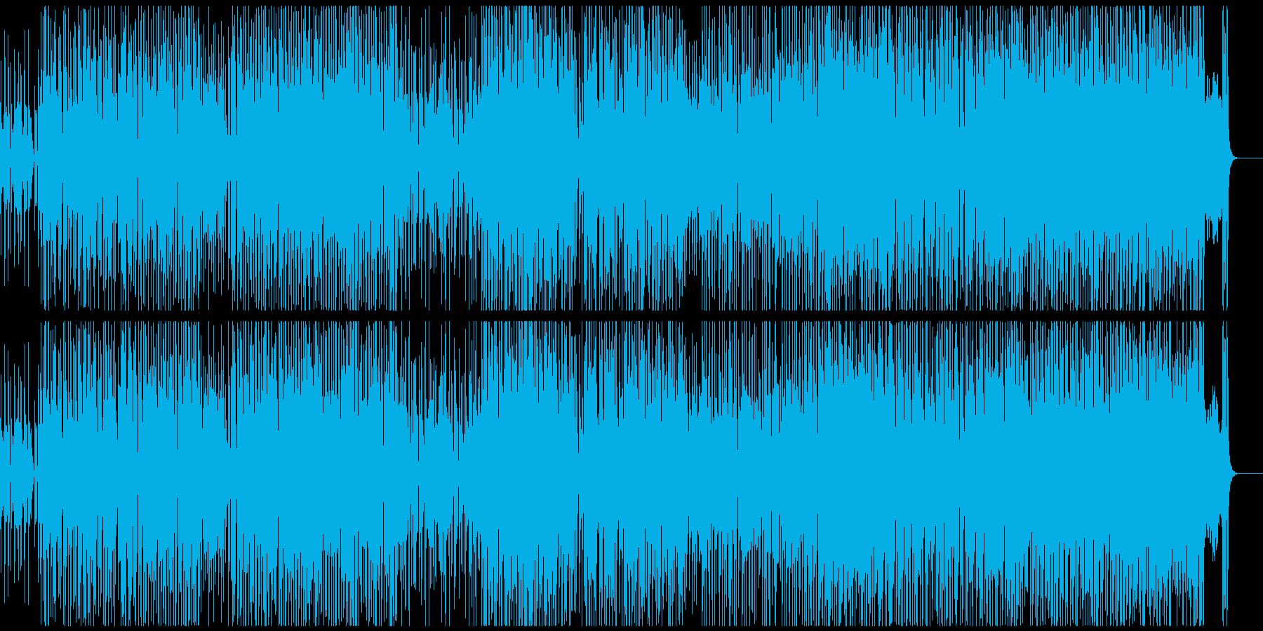 サックスの音色が怪しげなラテンジャズの再生済みの波形