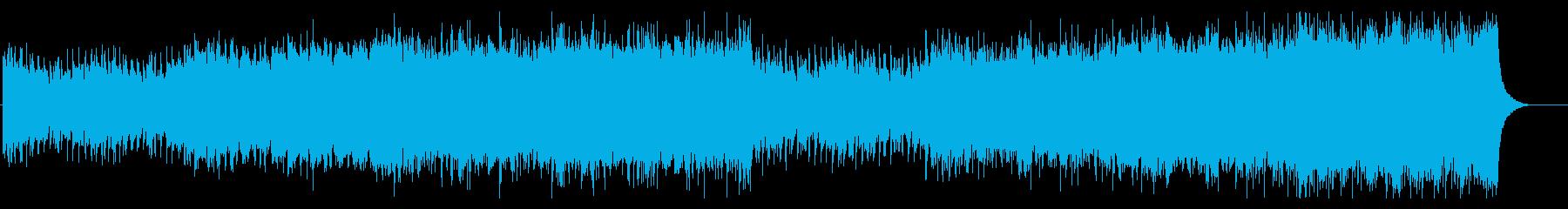 感動 壮大 エモい シネマティックの再生済みの波形