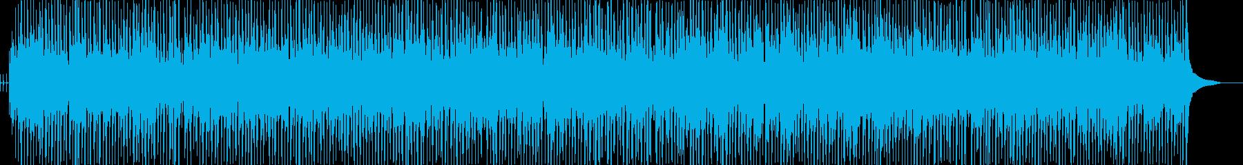 レッスン講座向け音楽01の再生済みの波形