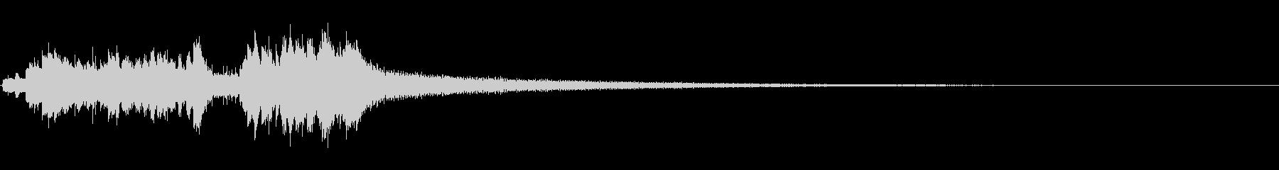 グロッケンシュピール:カスケードグ...の未再生の波形