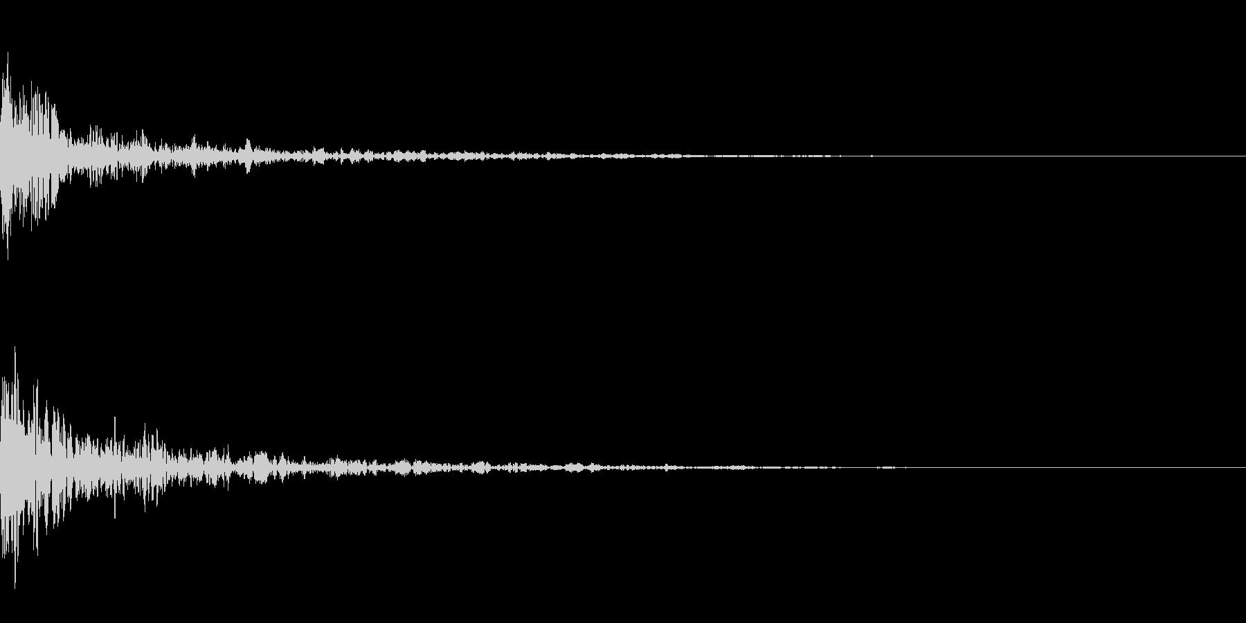 ドーン-37-1(インパクト音)の未再生の波形