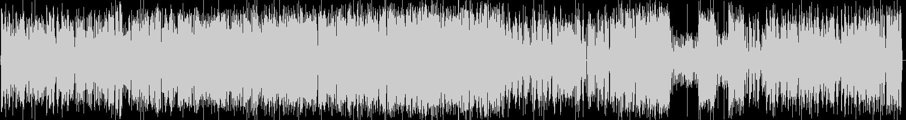 ガーシュウィンのピアノトリオの未再生の波形