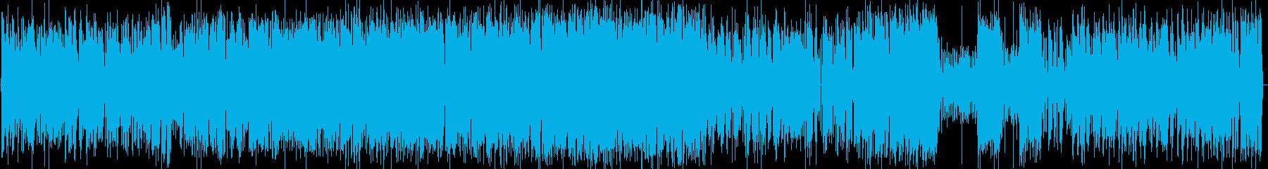 ガーシュウィンのピアノトリオの再生済みの波形