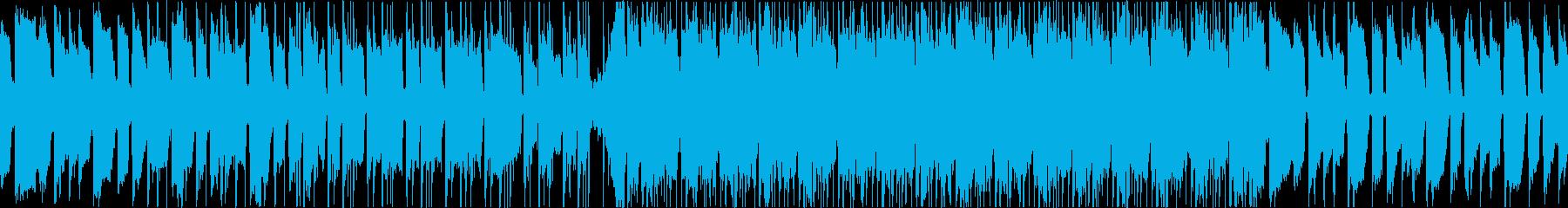 ローファイ、R&B、おしゃれ、CMの再生済みの波形