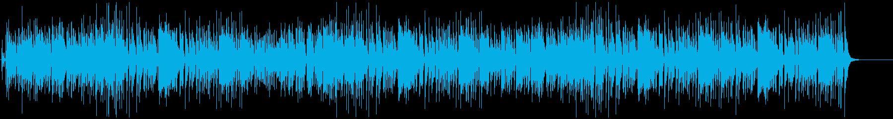生演奏ジングルベルをスイングジャズカバーの再生済みの波形