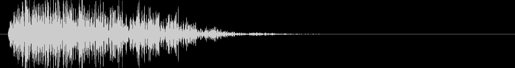 爆発・衝撃波・ソニックブーム8の未再生の波形