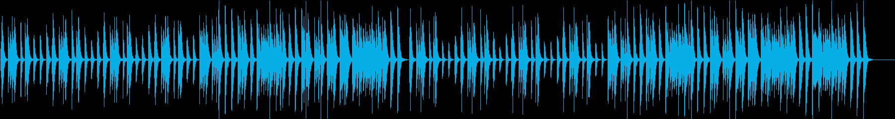 ほのぼのカワイイ子供/動物場面ピアノソロの再生済みの波形