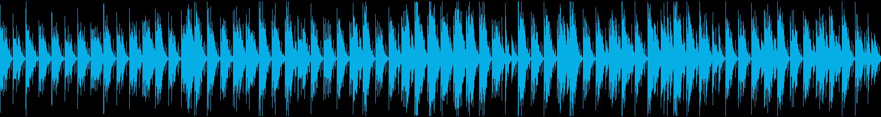 待ち時間・休憩・セミナー ギター/ループの再生済みの波形