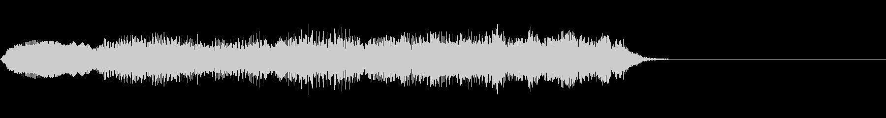弦楽四重奏のジングルの未再生の波形