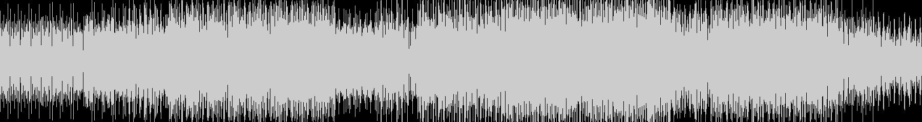 エレクトロBGM(electro)の未再生の波形