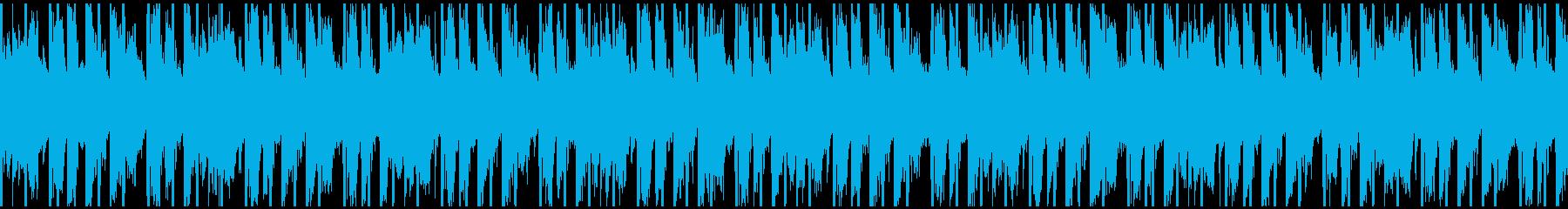 イン・ザ・フェスティバル(ループ)の再生済みの波形