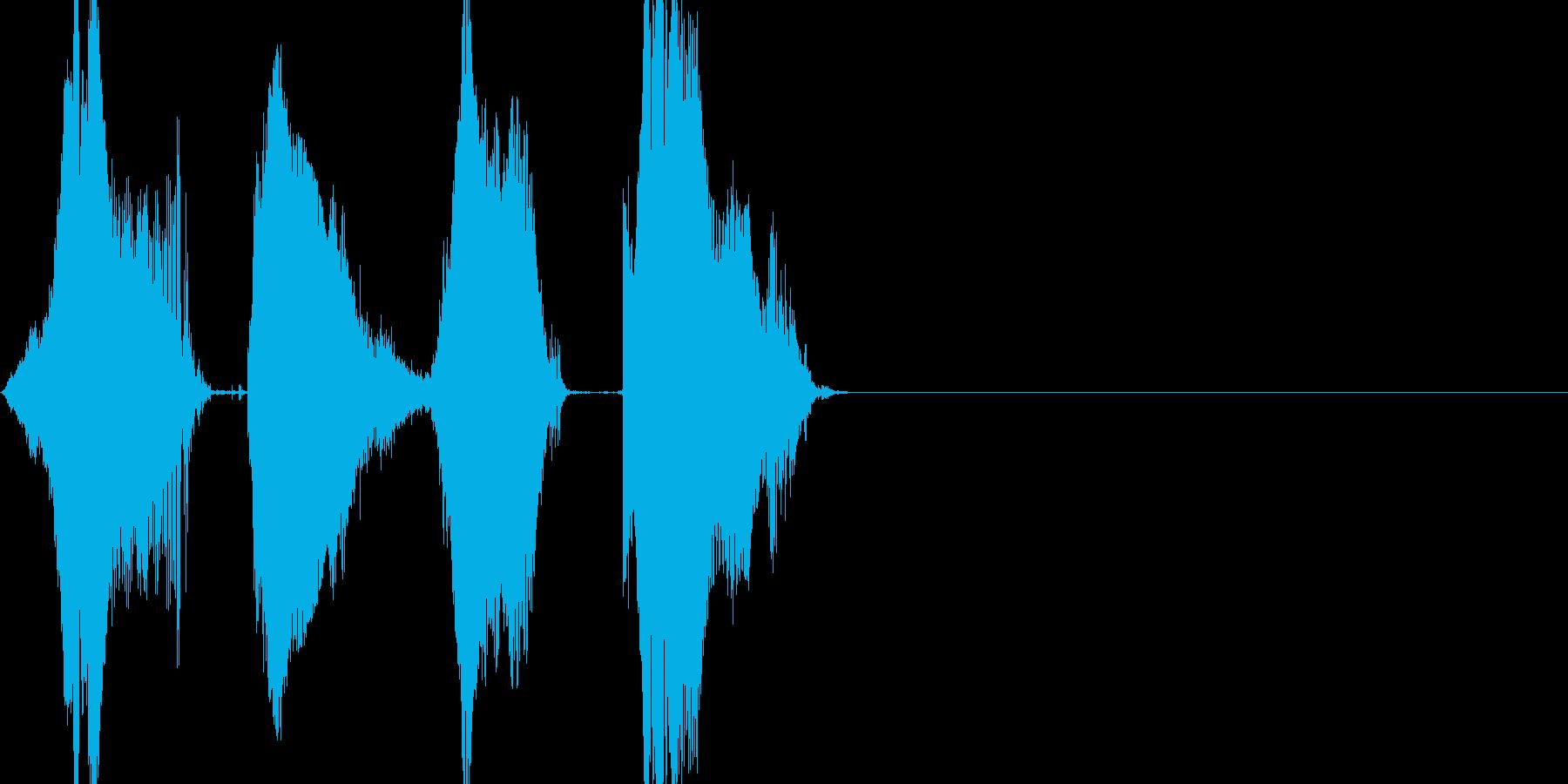 ワンツースリーGO! 140 カウントの再生済みの波形