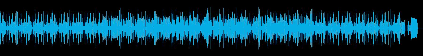 バラエティ コミカルなファミコンサウンドの再生済みの波形